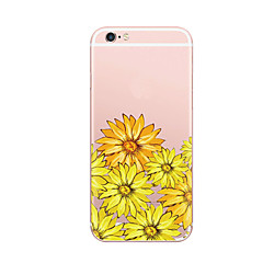 For Case Cover Ultra Thin Pattern Back Cover Case Flower Soft TPU for iPhone 7 Plus  7 6s Plus  6 Plus 6s SE 5S 5