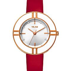 Vilam Women's Wrist watch Japanese Quartz Water Proof  Lady's Watches Shock Resistant Rhinestone Leather Band Luxury Elegant Girl Watch