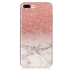 Til iphone 7 7 plus case cover imd bagside cover marmor soft tpu til iphone 6 6 plus 5c 5 5s se 4 4s