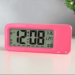 LED USB Charging Luminous Lazy Little Electronic Alarm Clock