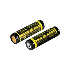 2db xtar 14500 800mAh 3.7V 2.96wh li-ion akkumulátor