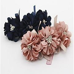Obroże Akcesoria DIY Składany Korygujący Kwiat Koronka Materiał