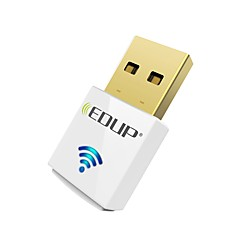 Edup usb wirelss wifi adattatore 600mps dual band 11ac mini dongle wireless card di rete ep-ac1619