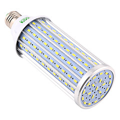 YWXLight® E26/E27 160LED 5730SMD 60W 5850-5950 Lm Warm White Cool White Decorative LED Corn Lights AC 85-265 V 1 pcs