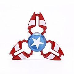 Handkreisel Handspinner Kreisel Spielzeuge Spielzeuge Tri-Spinner Metalllegierung EDCFokus Spielzeug Büro Schreibtisch Spielzeug Lindert