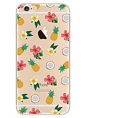 De tpu beschilderde mobiele telefoon beschermt de zachte shell voor de iphone-serie