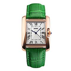 Heren Sporthorloge Dress horloge Modieus horloge Polshorloge Unieke creatieve horloge Chinees Digitaal Waterbestendig Echt leer Band