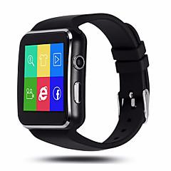 hhy x6 buet skærm smart watch skridttæller kamera sove overvågning alarm musik afspilning stillesiddende påmindelse