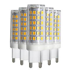 9W LED betűzős izzók T 88 SMD 2835 750-850 lm Meleg fehér Hideg fehér Természetes fehér Tompítható V 5 db.