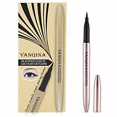 1pcs 방수 검은 아이 라이너 액체 아름다움 눈 라이너 연필 고품질 만들어
