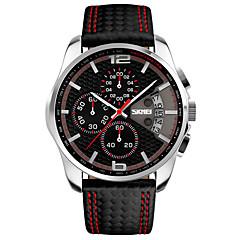 Heren Sporthorloge Dress horloge Modieus horloge Polshorloge Unieke creatieve horloge Chinees Kwarts LCD Kalender Chronograaf