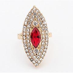 Δαχτυλίδι ΣτραςΒασικό Μοναδικό Λογότυπο Στρας Γεωμετρικό Φιλία Τούρκικα Γκόθικ κοσμήματα πολυτελείας Victorian Ανθεκτικό Κοσμήματα με