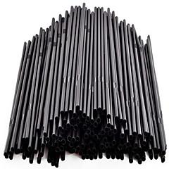 Codzienne Szklanki, 200 PP Sok mleko Słomki Stir Sticks