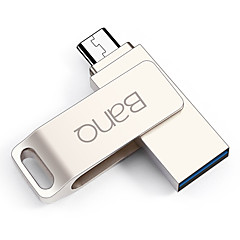 Banq t80plus 64gb otg micro usb usb 3,0 flashdrev u disk til android mobiltelefon tablet pc