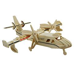 Puzzles 3D - Puzzle Bausteine Spielzeug zum Selbermachen Holz Model & Building Toy
