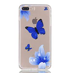 Für iphone 7plus 7 tpu Material Schmetterling Muster Relief Telefon Fall 6s plus 6plus 6s 6 se 5s 5