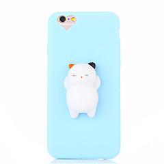 Case for iphone 7 plusz 7 squishy diy stressz megkönnyebbülés ügy hátlap esetben aranyos 3d rajzfilm puha tpu tok iphone 6 6s 6 plus 6s