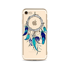 Etui til iphone 7 plus 7 cover gennemsigtigt mønster bagcover case dream catcher soft tpu til apple iphone 6s plus 6 plus 6s 6 se 5s 5c 5