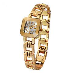 Mulheres Relógio de Moda Quartzo Lega Banda Dourada