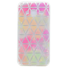 Case for Samsung Galaxy Grand Prime G530 Core Case Prime G360 Cover Translucent Pattern Grid Network Soft TPU Case
