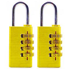 Nollaa rst-055 kupari salasanan lukko neljä digitaalista salasanaa iso varkaudenesto lukko lukko 6 asentaa dail lock salasanan lukko