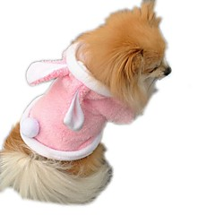 Cat Dog Costume Vest Dog Clothes Cosplay Solid Blushing Pink Ruby Purple