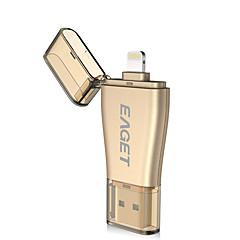 Eaget i50 32g otg usb3.0 błyskawiczny zaszyfrowany certyfikat mfi dysku flash dla dysku iphone ipad pc