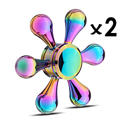 Fidget Spinners Przędzarka ręczna Bączek Zabawki Zabawki Pierścień przędzarki EDCStres i niepokój Relief Focus Toy Zabawki biurkowe