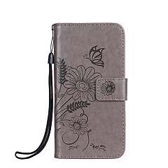 Obudowa dla Sony Xperia xz x kompaktowa obudowa pokrowiec uchwyt na karty portfel z podstawką flip wytłoczony pełny korpus przypadku kwiat