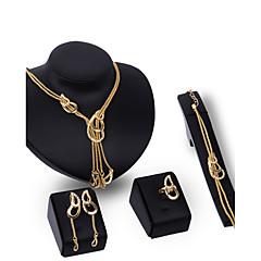 Γυναικεία Σετ Κοσμημάτων Στρας Μοντέρνα Πεπαλαιωμένο Εξατομικευόμενο Euramerican κοσμήματα πολυτελείας Κοσμήματα με στυλ κοστούμι