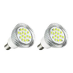 3W LED 스팟 조명 16 SMD 5630 260-300 lm 따뜻한 화이트 화이트 AC 220-240 V 2개