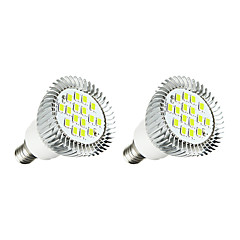 3W LED Spotlight MR16 16SMD 5630 260-300Lm Warm White/White AC 220-240V 2 pcs
