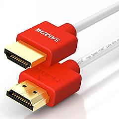 HDMI 2.0 Kabel, HDMI 2.0 to HDMI 2.0 Kabel Han - Han Forgyldt kobber 2.0m (6.5 ft)