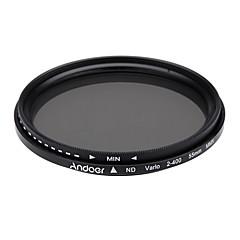 Andoer 55 mm nd fader neutre densité réglable nd2 à nd400 filtre variable pour canon nikon dslr camera
