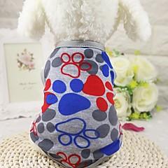 Câine Tricou Γιλέκο Îmbrăcăminte Câini Casul/Zilnic Modă Geometic Gri Albastru