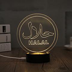 Lumière décorative LED Night Light-0.5W-USB Décorative - Décorative