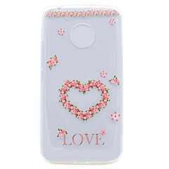 Voor Motorola G5 G5 Plus Case Cover Translucent Pattern Back Cover Tas Hart Zacht TPU Case