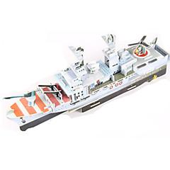 παζλ DIY Κιτ Παζλ 3D Δομικά στοιχεία DIY παιχνίδια Ποελμικό Πλοίο Αεροπλανοφόρο Πλοίο