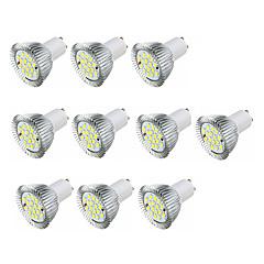 3.5W LED Spotlight GU10 16 SMD5630 360-400 Lm Warm White /White AC220-240V 10Pcs