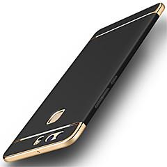 Taske til huawei p10 plus p10 luksus guld hard cover bagcover dækning flytbar 3 i 1 fundas sag p9 p9 plus