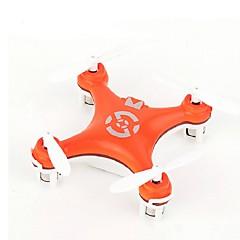 Drone CX10 4CH 6 Eixos - Iluminação De LED Retorno Com 1 Botão Vôo Invertido 360°Quadcóptero RC Controle Remoto Cabo USB 1 Bateria Por