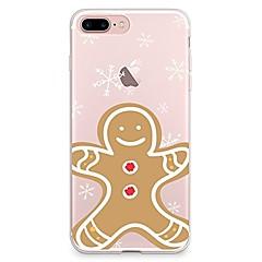 Etui til iPhone 7 6 christmas tpu blødt ultra-tyndt bagside cover cover iphone 7 plus 6 6s plus se 5s 5 5c 4s 4