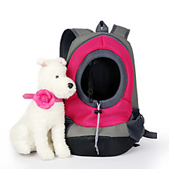 Kot Pies Przewoźnicy i plecaki turystyczne Zwierzęta domowe Koszyki Jendolity kolor Przenośny OddychającyYellow Czerwony Green Niebieski