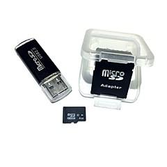 Karta pamięci microSDHC 4 GB z czytnikiem kart USB i sdhc sd adapter
