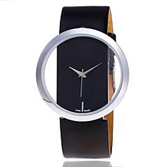Dames Dress horloge Skeleton horloge Modieus horloge Polshorloge Unieke creatieve horloge Vrijetijdshorloge Chinees Kwarts PU BandCartoon
