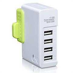 På hou1440g uk plug au plug telefon usb oplader hurtig opladning power strips 4 usb porte 4a ac 100v-240v