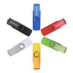 caraele 16gb otg kääntö kaksinkertainen pistokkeet usb flash-asema u-disk usb muistikortti ja android älypuhelin samsung / pc-tietokone