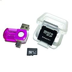 16GB MicroSDHC TF muistikortti 2 1 USB otg kortinlukija mikro USB otg