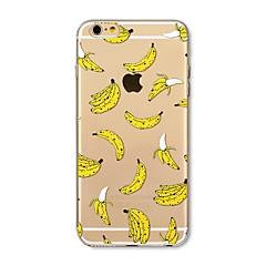 Θήκη για iphone 7 plus 7 κάλυμμα διαφανές μοτίβο πίσω κάλυμμα πλακιδίων πλακάκι μπανάνα μαλακό tpu για Apple iphone 6s 6 plus 6s 6s 5s 5c