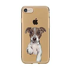 Pokrowiec na iphone 7 6 dog tpu miękki cienki pokrowiec na obudowy iphone 7 plus 6 6s plus se 5s 5 5c 4s 4